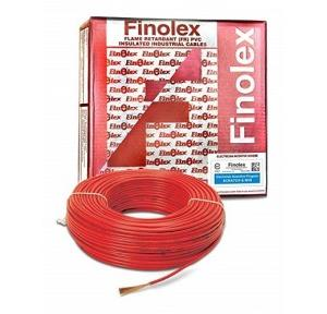 Finolex 4 Sqmm 4 Core FR PVC Insulated Sheathed Flexible Cable, 100 Mtr (Red)