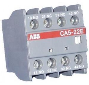 ABB 4 Way AHU Auxiliary Contact Block, CA5-22E