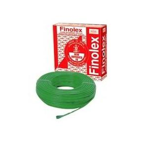 Finolex 2.5 Sqmm 1 Core FR PVC Insulated Unsheathed Flexible Cable, 100 Mtr (Green)