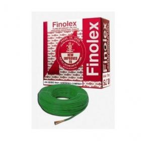 Finolex 1.5 Sqmm 1 Core FR PVC Insulated Unsheathed Flexible Cable, 100 Mtr (Green)