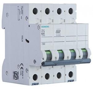 Siemens Betagard MCB, 63A, 4P, 7.5kA, 5SL64637RC