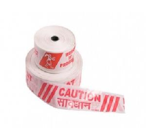 Safemaxx 3 Inch Red & White Barricading Tape, 300 Mtr