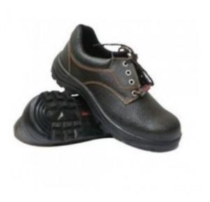 Prima PSF-23 Delta Black Composite Toe Safety Shoes, Size: 8