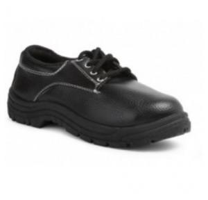Prima PSF-21 Classic Black Composite Toe Safety Shoes, Size: 8