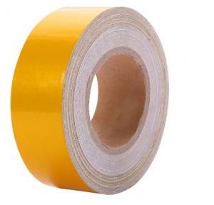 Safari Yellow Reflective Tape, 50 mm x 45 m