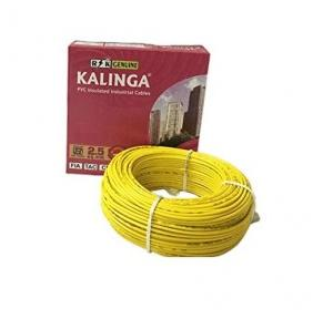 Kalinga 2.5 Sq mm Single Core FR PVC Insulated Unsheathed Industrial Cable (90 Mtr)