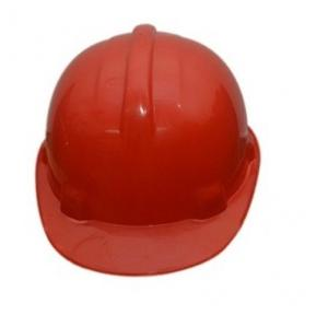 Safari Red Safety Helmet