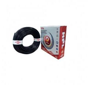 HPL 1 Sq mm Black PVC Insulated Single Core Unsheathed Industrial Cables (200 Mtr)