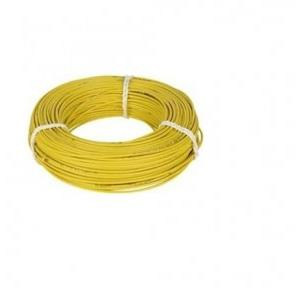 HPL 1 Sq mm Yellow  PVC Insulated Single Core Unsheathed Industrial Cables (200 Mtr)