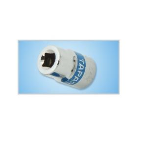 Taparia 1/2 Inch Square Drive (Flank Drive) 17mm Hexagonal Socket
