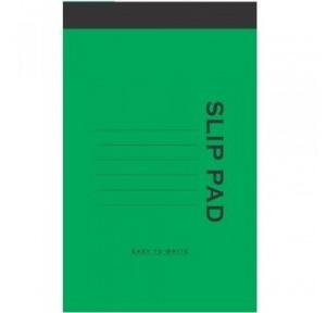 Slip Pad No-8, (40 Pages)