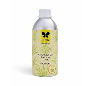 Iris Lemon Grass Fragrance Vaporizer Oil (1 Ltr), INFV0272LG