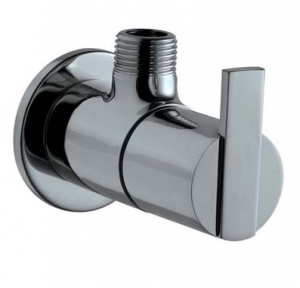 Jaquar Brass Angular Stop Cock With Wall Flange, FON-CHR-40053