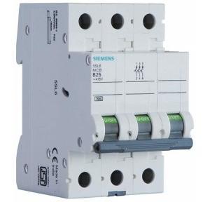 Siemens Betagard MCB, 25A, 3P, 5SL63257RC