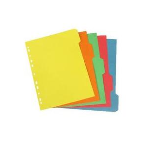 Colour File Divider A4 (Pack of 100 Pcs)
