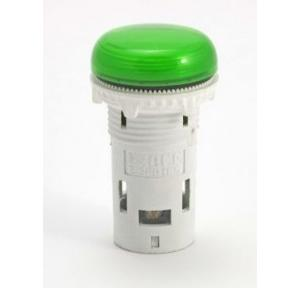 L&T Esbee Green LED Indicator, 22.5 mm