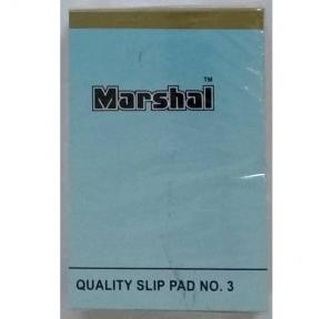 Marshal Unrolled Top Opening Scribbling Pad No.3, Size: 1/8 (40 Pages)