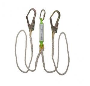 Heapro Polyamide Rope Forked Lanyard, Length: 1.8 m, HI-702 KE-D