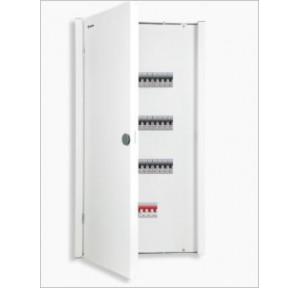 Crabtree 2+4 Way Per Phase Isolation Vertical 4 Tier Distribution Board, DCDKTHPDCW04
