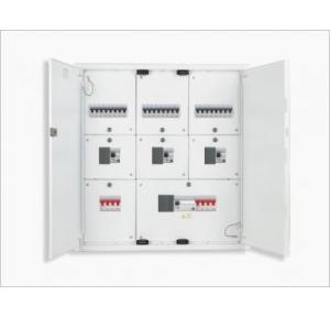 Crabtree 4 Way Xpro 8 Segment Double Door Distribution Board, DCDKTHDDCW04