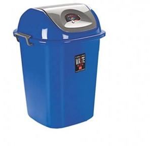 Cello Plastic Esquire Blue Dustbin, 80 Ltr