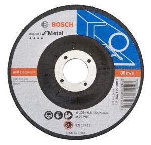 Bosch Grinding Wheel AG5, 125 x 6.8 x 22.23 mm, Grade: A 24 P BF, 227