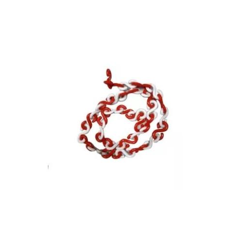 Bellstone PVC Traffic Safety Chain With Hook, 10 Mtr
