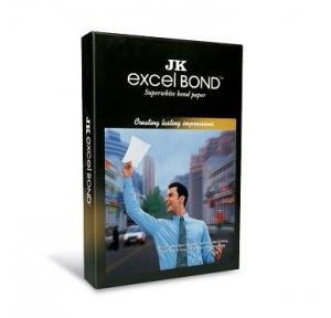 JK Excel Bond Paper, A4 Size, 100 GSM (Pack of 500 Sheets)