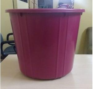 Plastic Open Dustbin, 40 Ltr