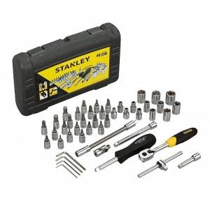 Stanley 1/4 Drive Metric Socket Set, STMT727948 (46 Pcs)