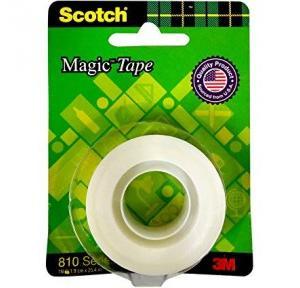 3M Scotch Magic Tape 810 Series, 1.9 cm x 25.4 mtr