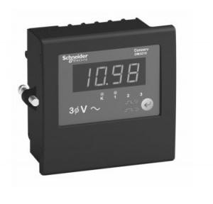 Schneider Single Phase Voltmeter (V), DM1210