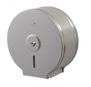 Dolphy Stainless Steel Anti-Dust Jumbo Roll Toilet Paper Dispenser, DTPR0010