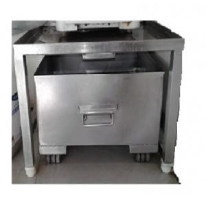 Water Dispenser Stand with Tray SS 304, Size: 20x20x13 Inch