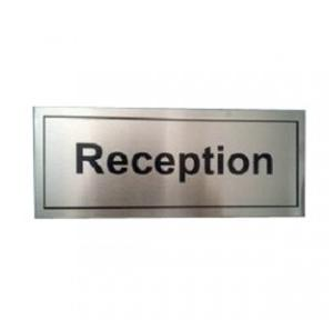 Stainless Steel Name Plate, Size: 10 X 2 Inch