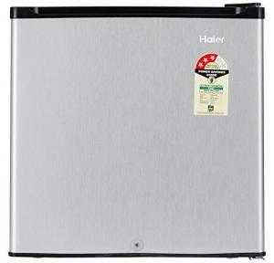 Haier 52L Direct Cool Single Door Refrigerator (VCM Silver), HR-62VS