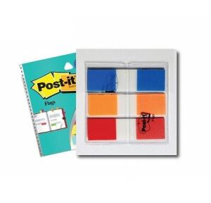 3M Post-it Flags, 12.5x43.7 mm, 3 Colours