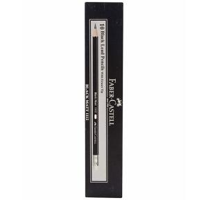 Faber Castell Black Matt 1112 2B Pencil (Pack of 10)