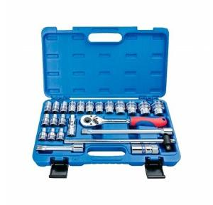 King Tony 1/2 Inch Drive Socket and Wrench Set (24 Pcs)