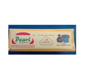 Pearl Garbage Bag, 24x32 Inch, 40 Micron (Pack of 15 Pcs)