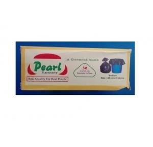 Pearl Garbage Bag, 19x21 Inch, 40 Micron (Pack of 30 Pcs)