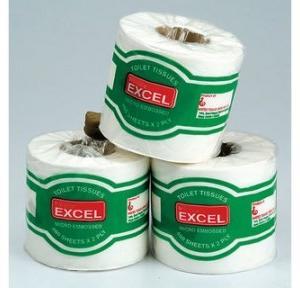 Excel Toliet Paper Roll 4 Inch, 100 gm (100 Pulls)