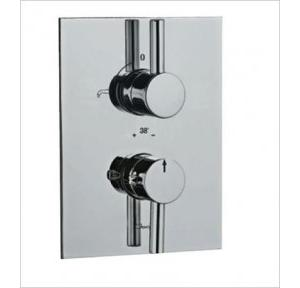 Jaquar Concealed Bath & Shower Mixer with Thermostatic Control Cartridge, FLR-CHR-5671