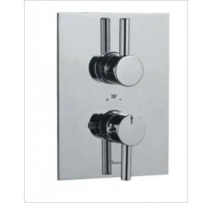 Jaquar Concealed Shower Mixer with Thermostatic Control Cartridge, FLR-CHR-5651