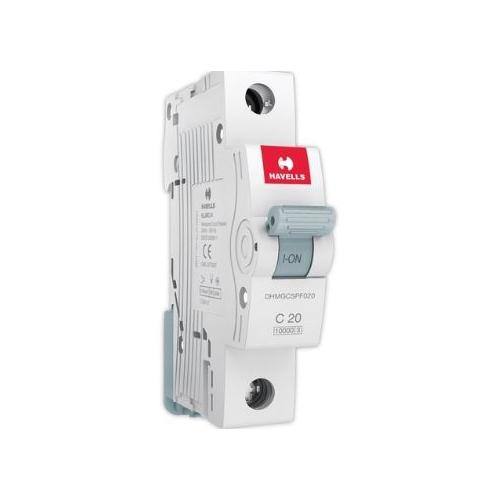 Havells 20A 1P C-Curve AC MCB, DHMGC1PF020
