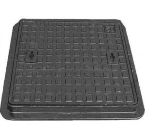 Cast Iron Light Duty Earth Pit Cover, 1ft x 1ft