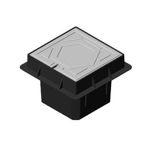 HDPE Earth Pit Cover, 1ft x 1ft