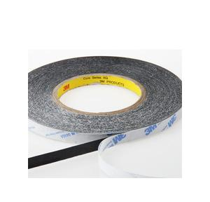 3M 3/4 Inch x 11 mtr Double Sided Tape (Black), 1600 IG