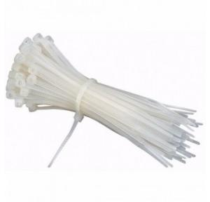 Cable Tie White, 225 mm (100 Pcs)