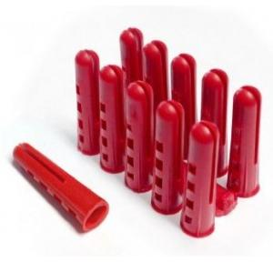 PVC Rawl Plugs, 1 Inch (Pack of 100 Pcs)